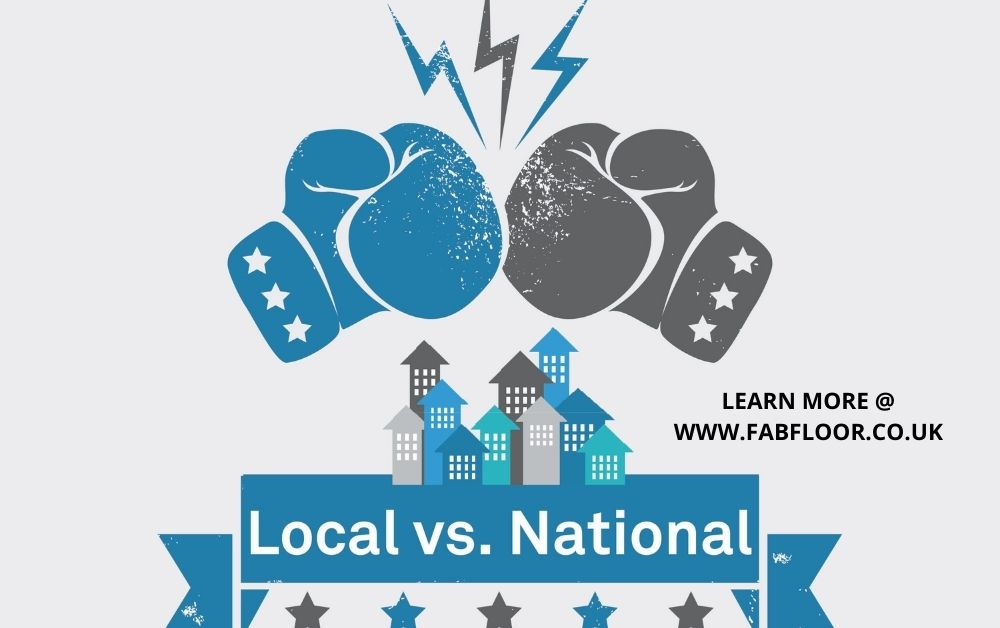 local vs national for best double glazing companies